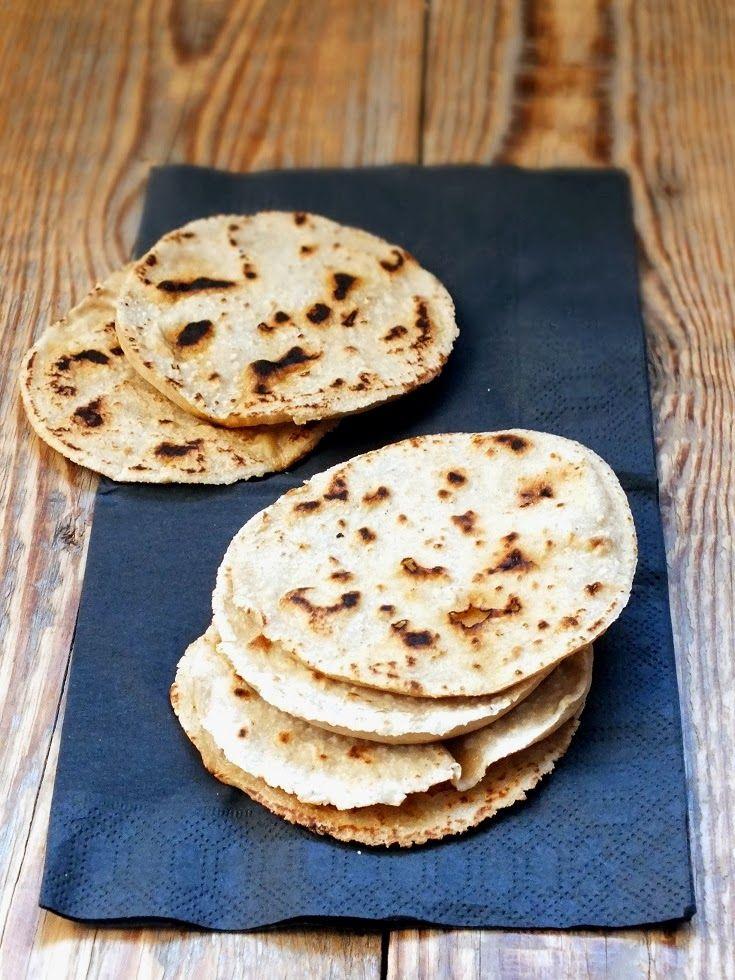 smakołyki alergika: owsiane tortille