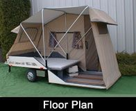 """Leisure-Lite tent trailer. <3<3 our pins? """"LIKE"""" us at: https://www.facebook.com/bound4burlingame to get camping tips, recipes, DIYs, outdoor ideas and sensational finds on your newsfeed."""