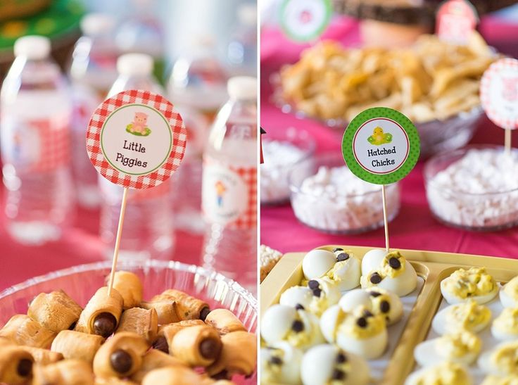 Old Macdonald Party Food 1st Birthday Pinterest