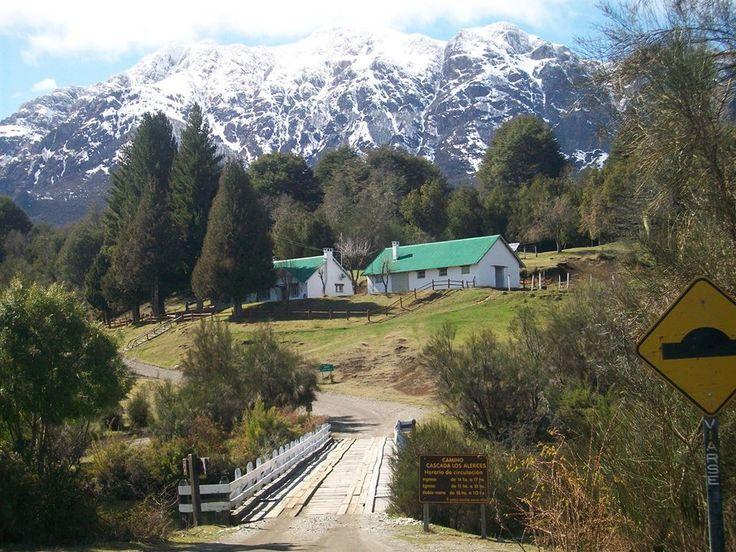 Camino al Parque Nacional Los Alerces