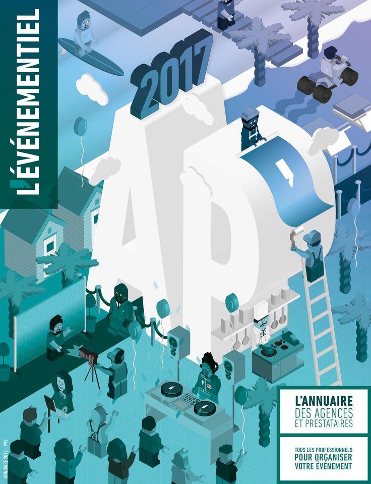 Annuaire des agences et prestataires 2017 à commander dès à présent.