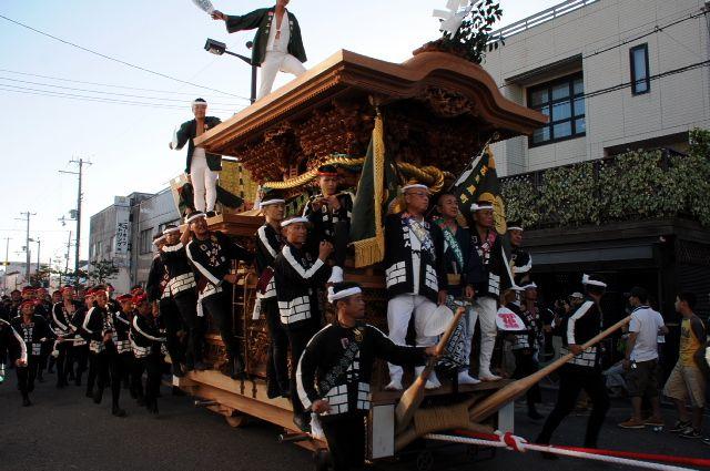 岸和田だんじり祭り 平成25年度 五軒屋町