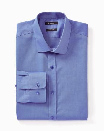 Non-iron fitted dress shirt - New colours