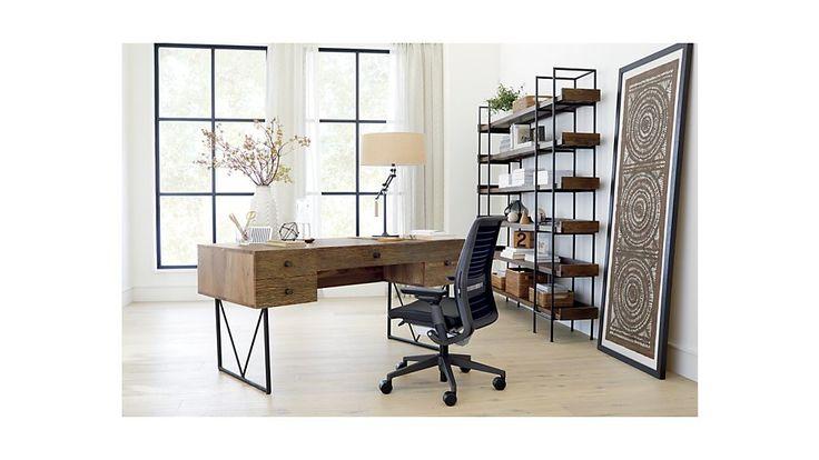 Beckett 6 High Shelf Atwood Desk Crate And Barrel