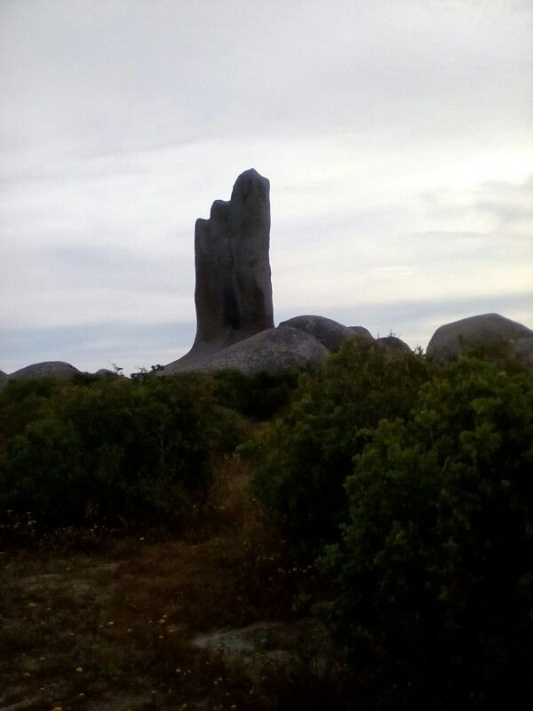 South Africa Langebaan Nature reserve Hand rock!!