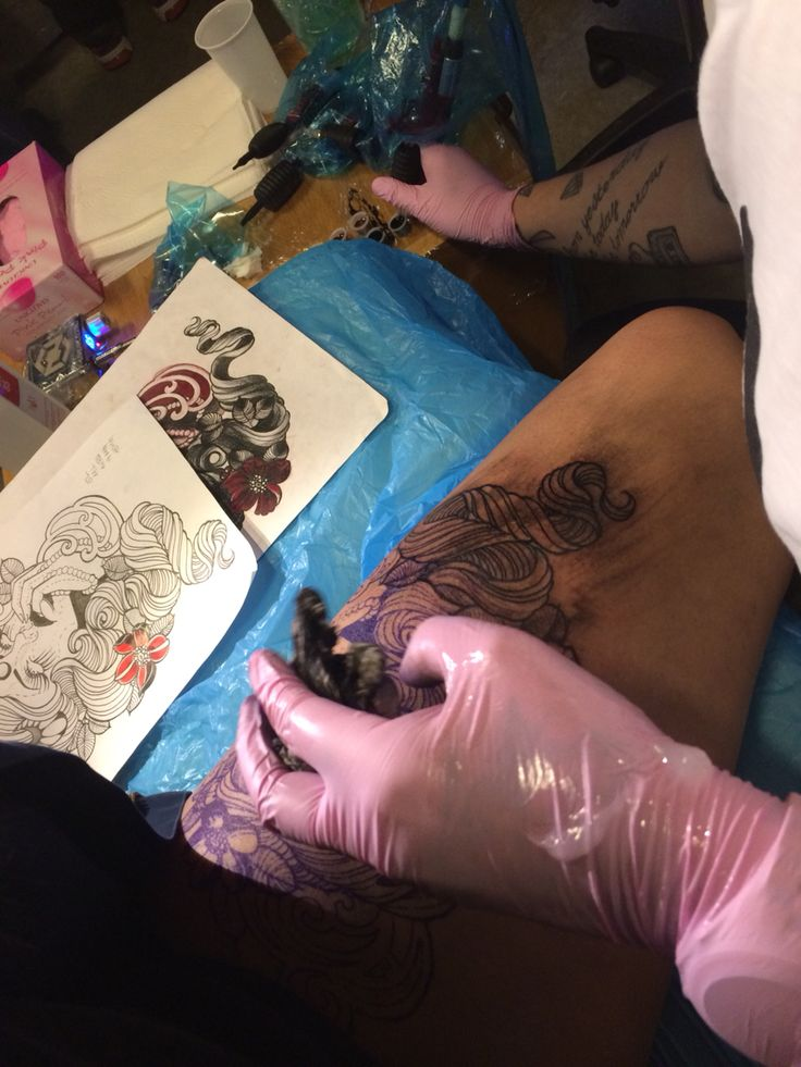 Tatovering på min krop