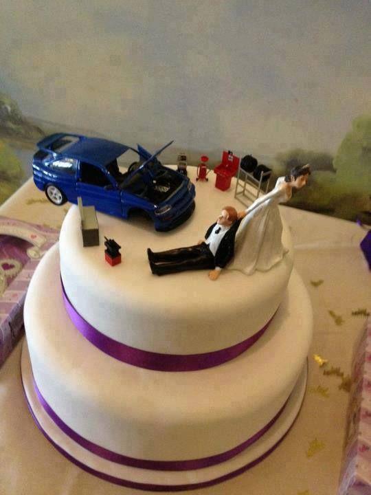 Mechanic Wedding Cake Wedding Ideas Pinterest