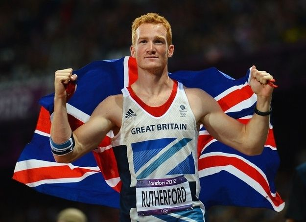 Introducing Greg Rutherford from team Great Britain.