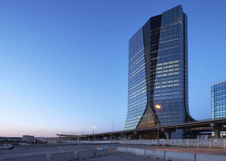 CMA CGM Headquarters in Marseille by Zaha Hadid
