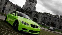car wallpapers BMW M3-green