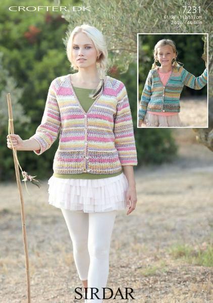 54 best Crofter DK images on Pinterest | Knits, Cardigans and Children