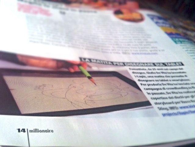 iLAPIS : Capacitive Pencil Stylus for iPad & Android tablet by giulio de vita — Kickstarter
