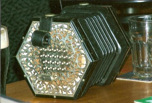 My friend Tom Hall's English concertina