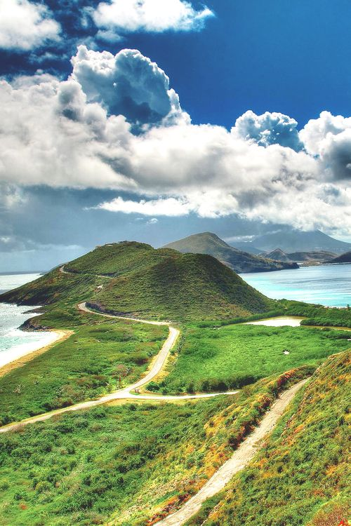Saint Kitts Island, Saint Kitts | The Caribbean beaches may get most of the attention, but driving along the coastline to reach Mt. Liamuiga and hiking to the top of the 3,792 foot dormant volcano is an indescribable thrill.