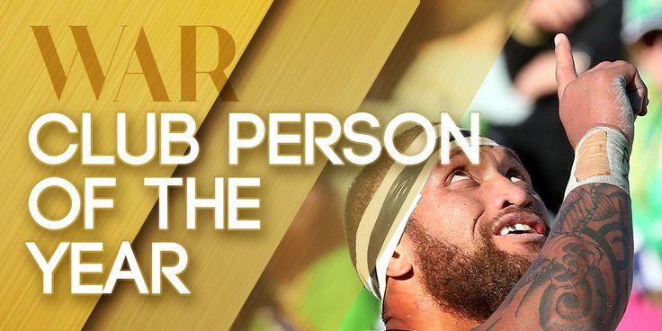 Manu Vatuvei #TheBeast #WarriorsForever #2014 #Award