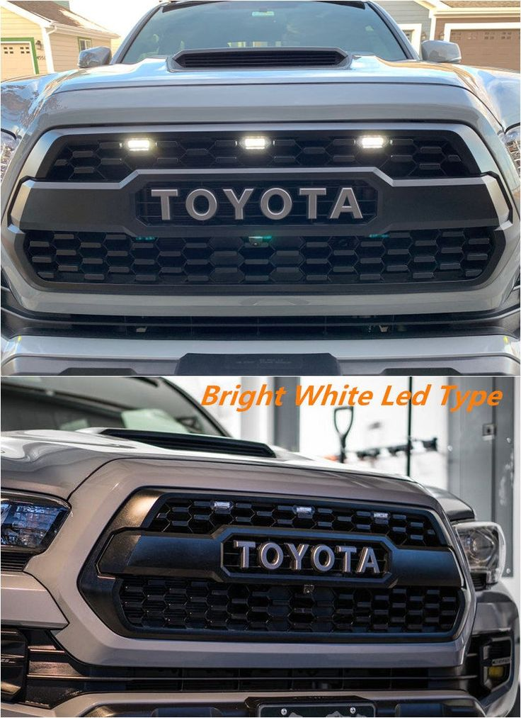 Modified TRD GRILLE Raptor Type with Amber/White