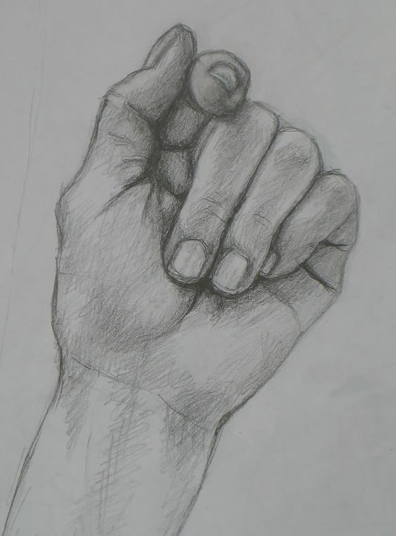 how to draw realistic hand – hand drawing. visit m…