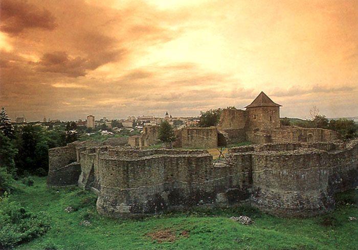 Suceava Castle in Romania