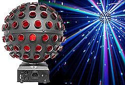 Chauvet ROTOSPHERELED Tri-Color Mirrorball Simulator LED Effect Light Fixture