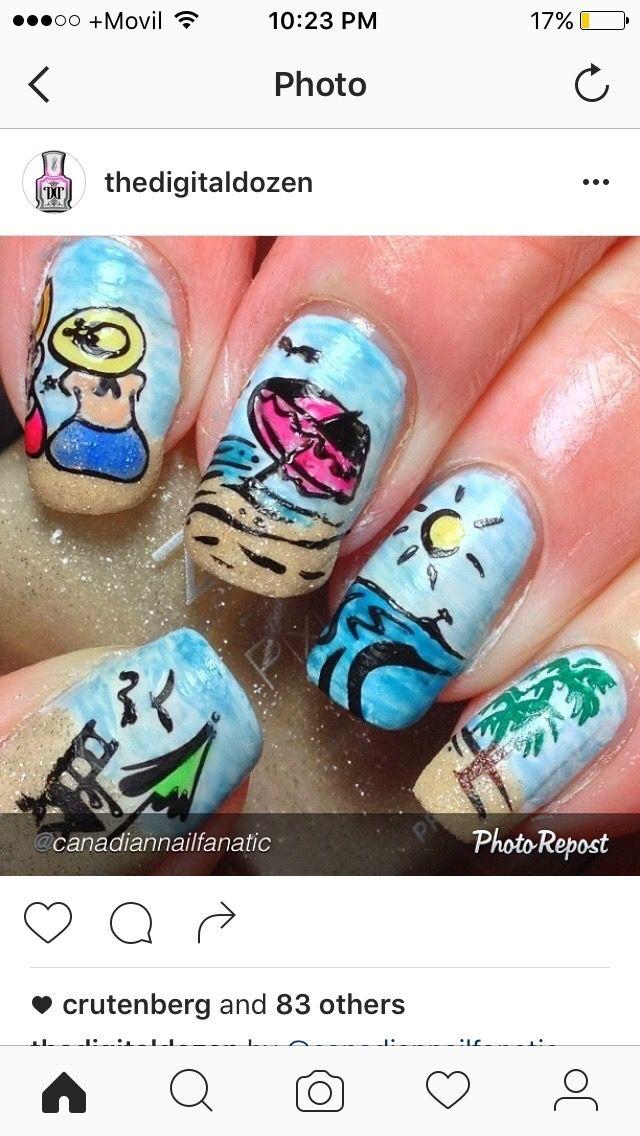 modern nails boka online