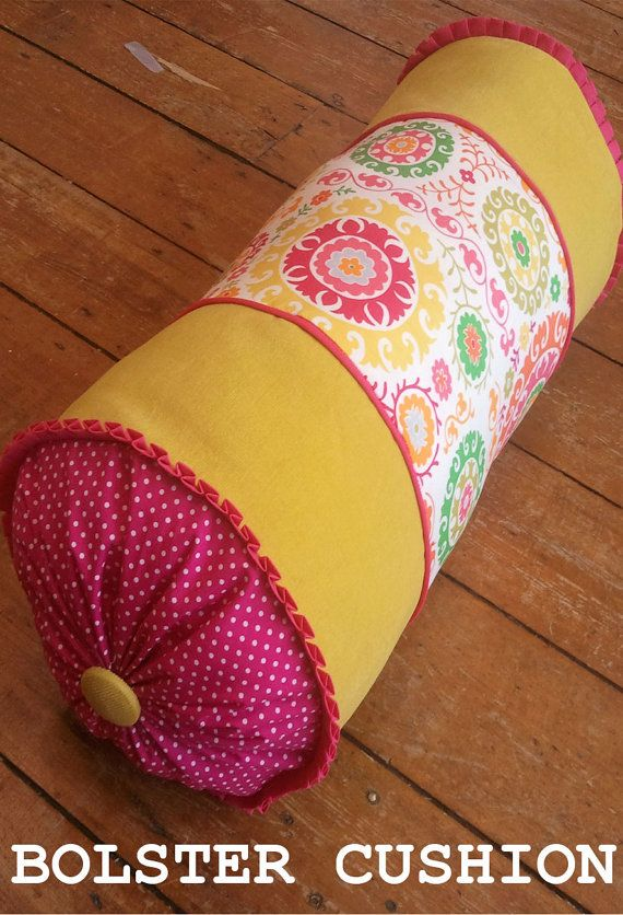 Bolster cushion SEWING PATTERN by OwlandSewingCat on Etsy, £5.99