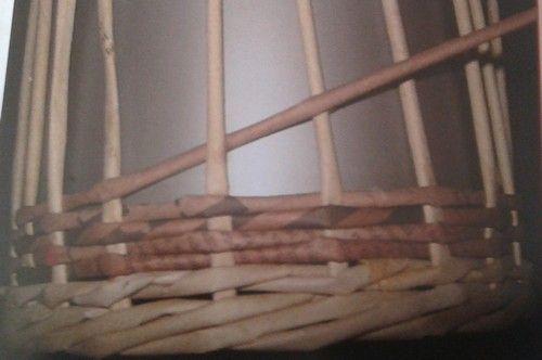 Opletek jednou ruličkou :: Pletení z papíru Hanča Čápule