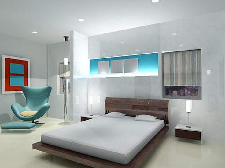 minimalist bedroom : Earthy Minimalist Bedroom Regarding