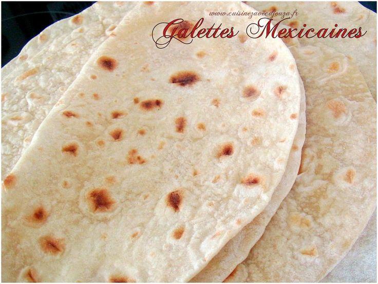 Galettes mexicaines tortillas pour fajitas