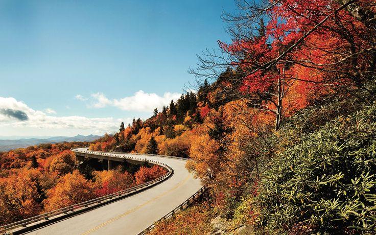 Blue Ridge Parkway, VA & NC - America's Best Fall Foliage Drives | Travel + Leisure