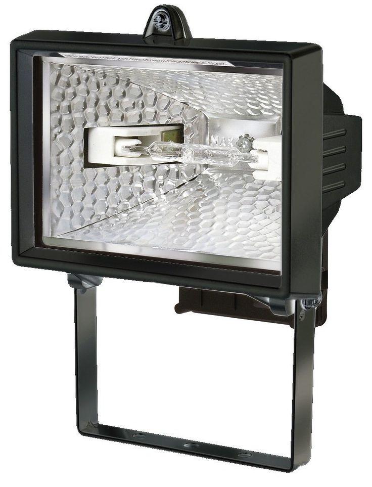 Brennenstuhl Halogenstrahler / Flutlicht Halogen ideal als Baustrahler zur Montage auf Stativ (Außenstrahler IP54 geprüft, 120 Watt) Farbe: schwarz: Amazon.de: Baumarkt