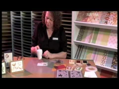 Scrap It TV - Watercolour Stamping Technique
