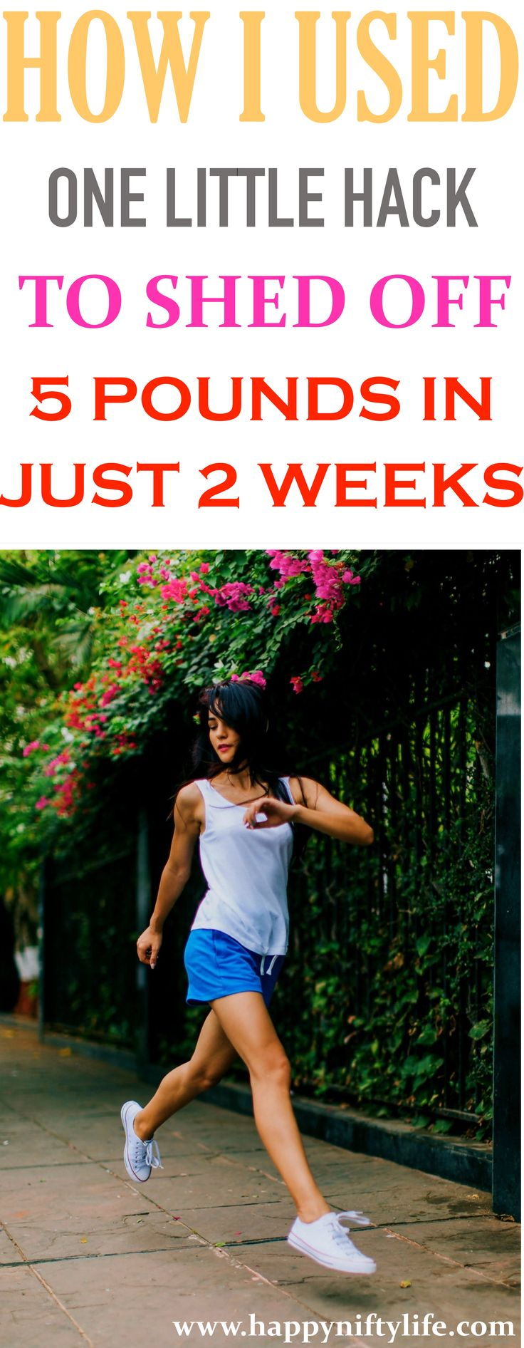 I lost 5 pounds in just two weeks with this easy one easy weight loss hack. If you want to lose weight fast, try this little trick today.