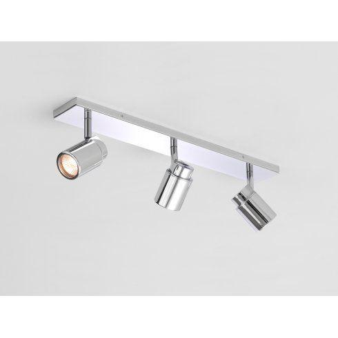 Astro Lighting Como Bathroom Triple Spotlight Bar in Polished Chrome Finish - Lighting Type from Castlegate Lights UK