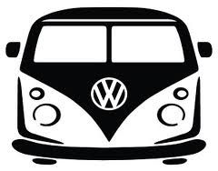 Volkswagen T1 bus.... Template/Stencil/ Print (awesome for a cool boys tee...