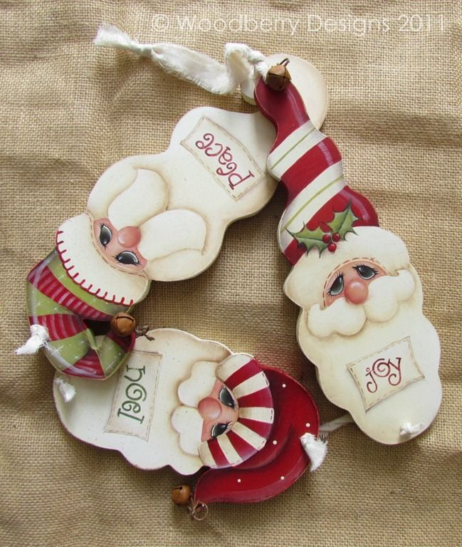 Santa ornies
