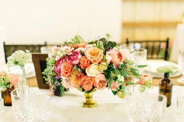Rustic and elegant reception