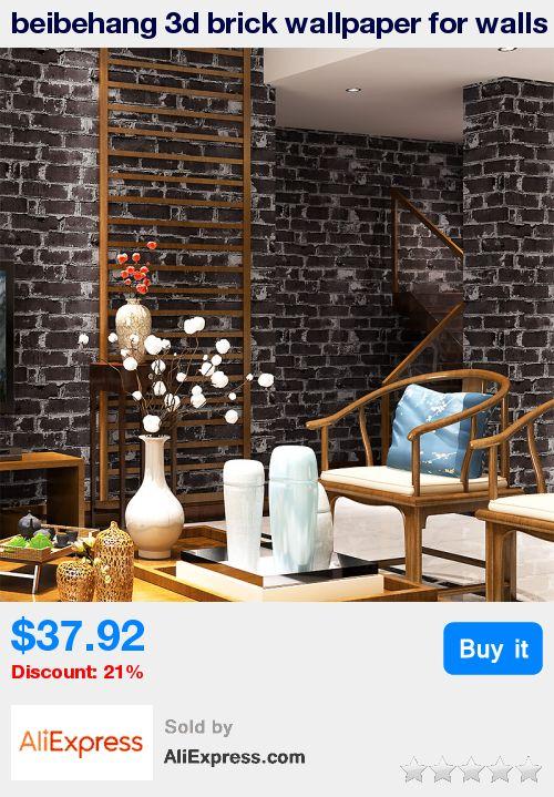 les 25 meilleures idees de la categorie papier peint With meuble pour lampe de salon 15 papier peint imitation brique dans la chambre 224 coucher