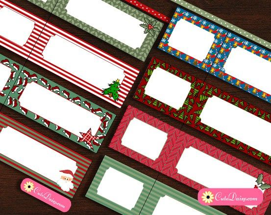 Free Printable Christmas Address Labels                                                                                                                                                                                 More