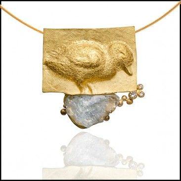 Linda Kindler Priest - Duckling Necklace