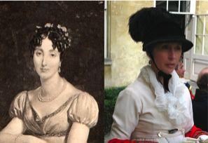 Arromanches 1889 : La grand-mère maternelle du baron de Serlay est la duchesse de Rovigo , Félicité de Faudoas Barbazan.Née à St Domingue , elle a échappé aux exécutions de l'insurrection des esclaves. Bonaparte l'a mariée à Rovigo , l'aide de camp dont il a fait la fortune.