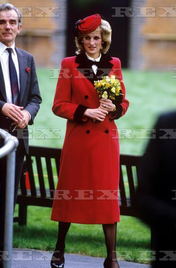 December 4 1984  Princess Diana at the Royal School for the Blind, Leatherhead, Surrey