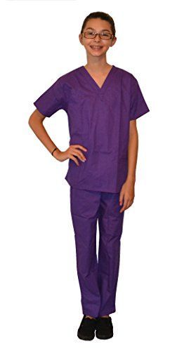 Purple Kids Scrubs by My Little Doc 810 ** You can find out more details at the link of the image.