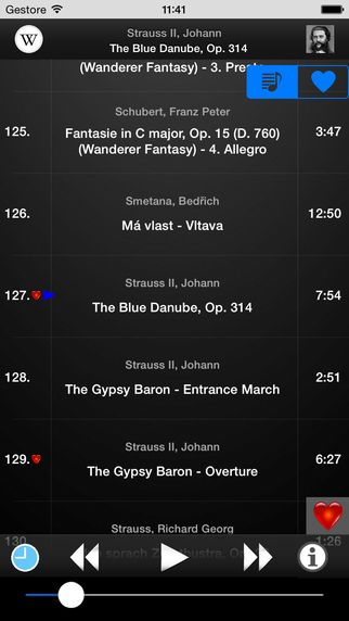 With this application you'll have the best music with you wherever you go! - 150 best masterpieces of classical music!