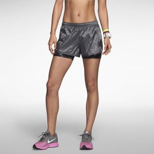 Nike Transparent Two-In-One Women's Running Shorts