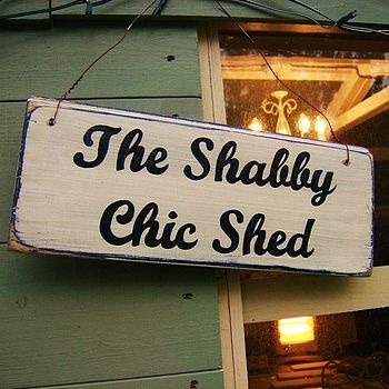 cute sign for my one day garden shed