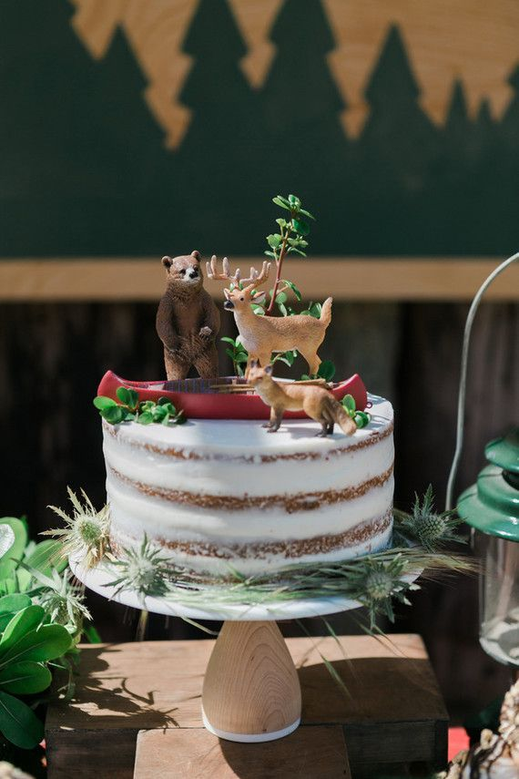 Twink + Sis Vintage camp birthday party | Camp theme party | 100 Layer Cakelet