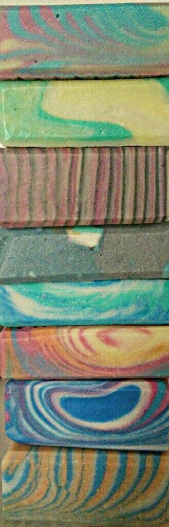 Eklektika sapo on Facebook! #soap #diy #soap_color #soap_CP #soap_swirl