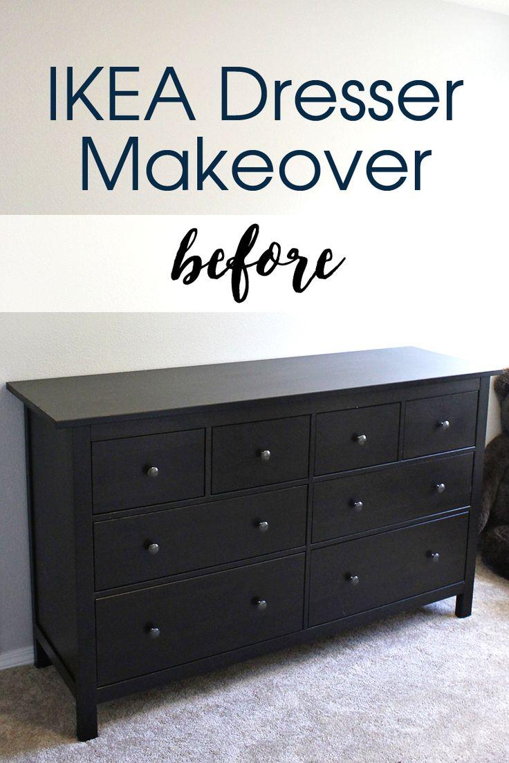 Hemnes IKEA Dresser Makeover Inspiration boards, Dresser makeovers and Ikea dresser