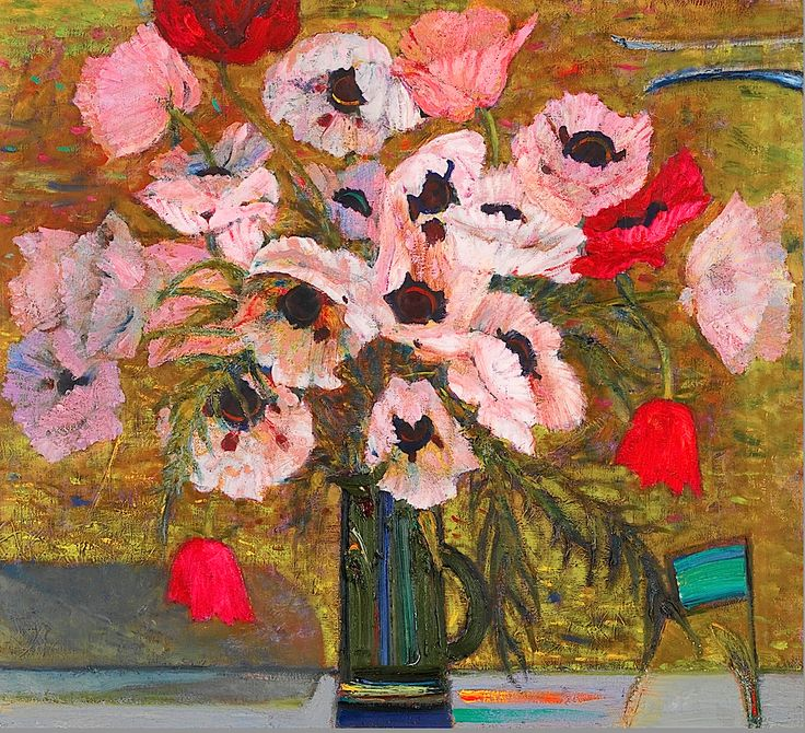 Sir Robin Philipson, Poppies