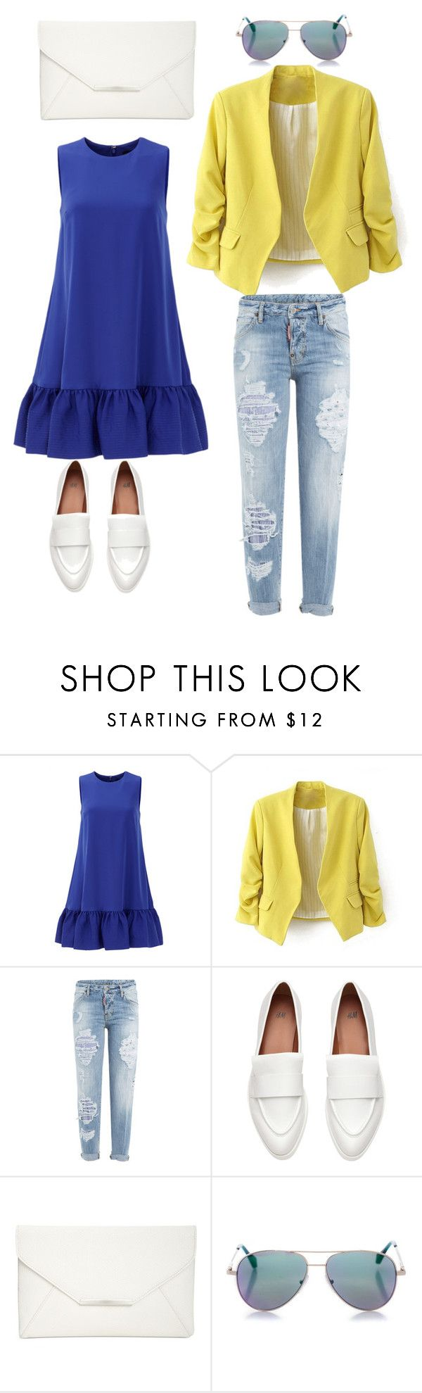 """chic"" by citrarizkiamalia on Polyvore featuring Cynthia Rowley, Dsquared2, Style & Co. and Cutler and Gross"